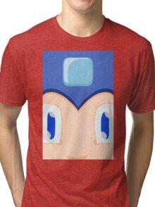 Megaman: Robotic Eyes Tri-blend T-Shirt