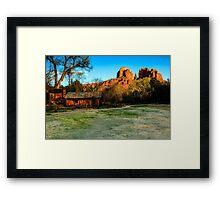 Cathedral Rock Sedona Framed Print