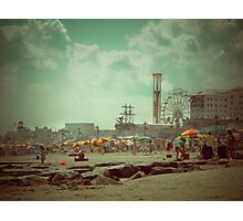 Oh those Wildwood Days Photographic Print