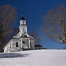 Snowy Mountain Church by Joe Jennelle