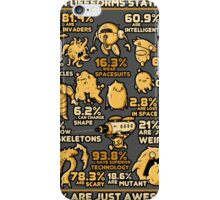 Alien Statistics iPhone Case/Skin