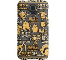 Alien Statistics Samsung Galaxy Case/Skin