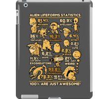 Alien Statistics iPad Case/Skin