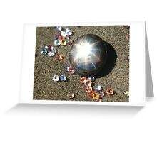 A Star among stones. All Sapphires Greeting Card