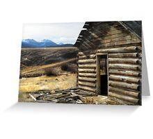 Mountain Rustic Greeting Card