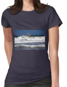 Wave Rider Womens Fitted T-Shirt