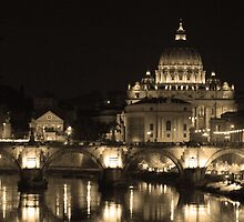 Down Stream Catholicism, Rome. by Joanna Beilby