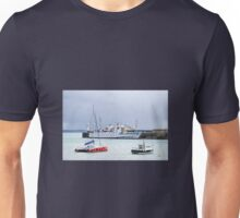 Scillonian III At Penzance Harbour Unisex T-Shirt