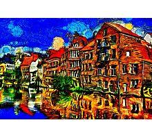 Bruges Town Belgium Fine Art Print Photographic Print