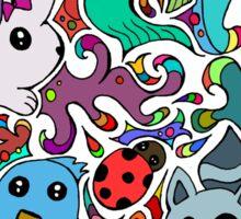Love The Animals Sticker