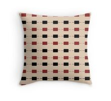 little, blocks Throw Pillow