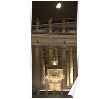 Piazza di San Pietro. Poster