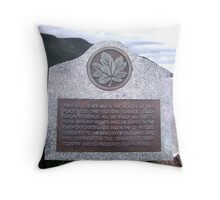 Memoriam Throw Pillow