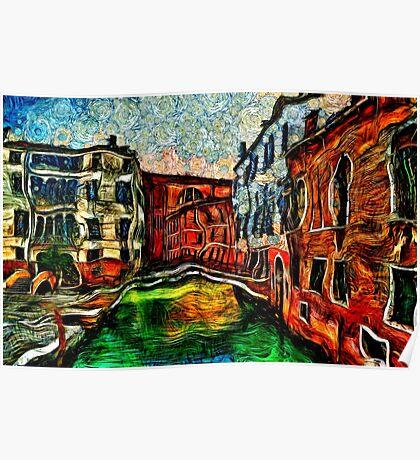 Beautiful Venice Italy Fine Art Print Poster