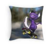 Blindskunk - Mid Ollie  Throw Pillow