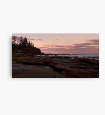 Shelly beach sunrise Canvas Print