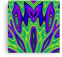 Fish Kaleidoscope 2000 Canvas Print