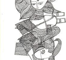 Devi by nabakishore