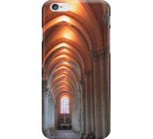 Down the aisle iPhone Case/Skin