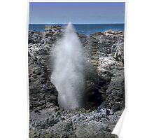 Kiama Blow Hole Poster