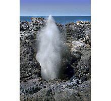 Kiama Blow Hole Photographic Print