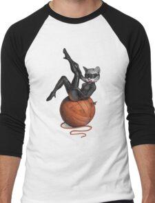 Feline Female Men's Baseball ¾ T-Shirt