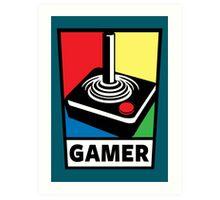 Gamer Art Print