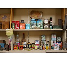 Old Groceries Photographic Print