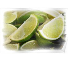 Zesty Limes Poster