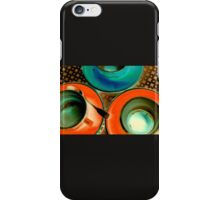 Neon Cups & Saucers iPhone Case/Skin