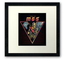 MGS V Framed Print