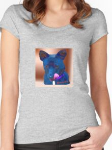 Rescue Dog  Women's Fitted Scoop T-Shirt