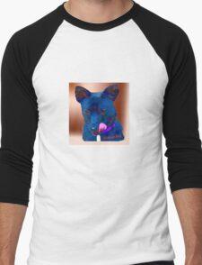 Rescue Dog  Men's Baseball ¾ T-Shirt