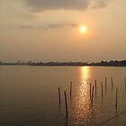 Sunset at Hanoi Vietnam by chels83