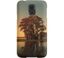 Louisiana bayou at sunset Samsung Galaxy Case/Skin