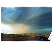 There be a Storm a Brewin' Poster