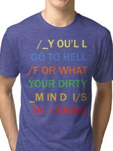 Radiohead - NUDE Tri-blend T-Shirt