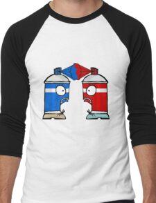 Spraycan War Men's Baseball ¾ T-Shirt