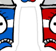 Spraycan War Sticker