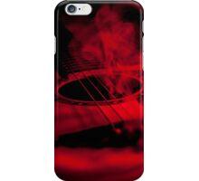 Smoked Guitar iPhone Case/Skin
