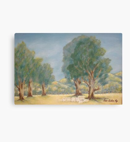 Down in the Glen Canvas Print