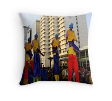 On the high Throw Pillow