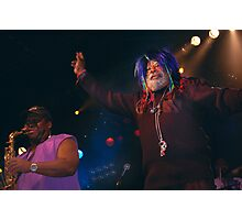 George Clinton at VooDoo Fest '09 Photographic Print
