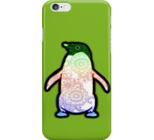 Penguin - Henna Rainbow Tattoo iPhone Case/Skin