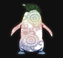 Penguin - Henna Rainbow Tattoo Kids Clothes