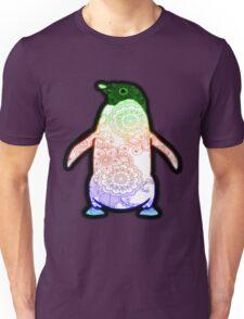 Penguin - Henna Rainbow Tattoo Unisex T-Shirt