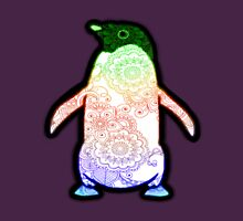 Penguin - Henna Rainbow Tattoo Womens Fitted T-Shirt