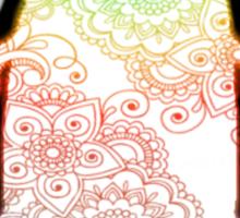 Penguin - Henna Rainbow Sticker