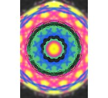 Colorful circle pattern Photographic Print