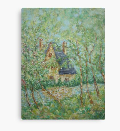 Wee Hoose, Ma' Butn'ben Canvas Print